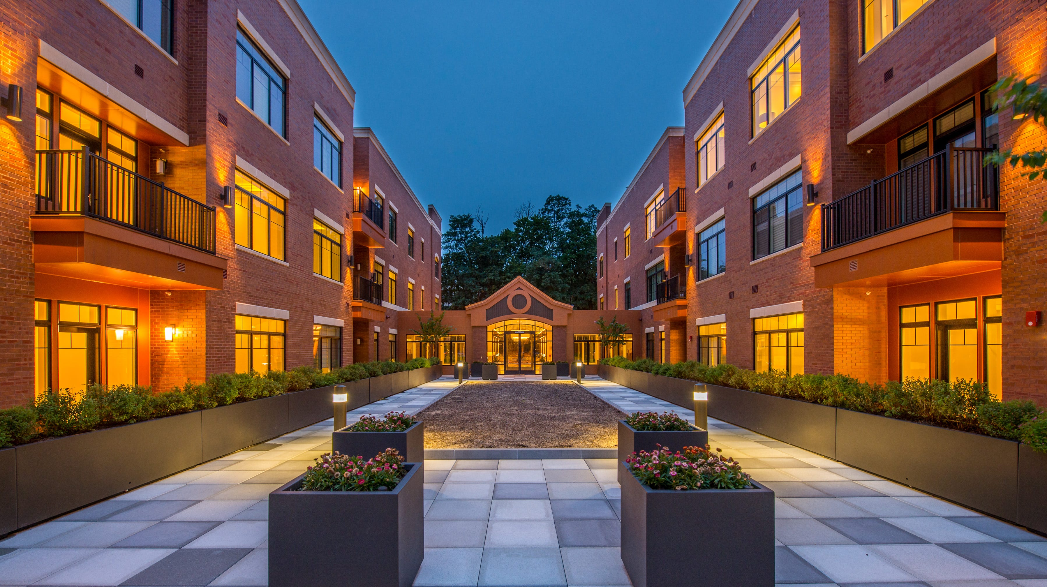 Madison Place is a new complex of luxury townhomes in downtown Madison that already is more than half leased.