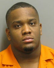 Malik Williams was charged with three counts of first-degree robbery.