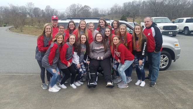 After breaking her pelvis in a wreck, Westmoreland softball player Zoie Vanriper was given a used car through a love offering of the Northern Middle Tennessee Fellowship of Christian Athletes and help from Brian's Motorsports and Redline Motorplex.
