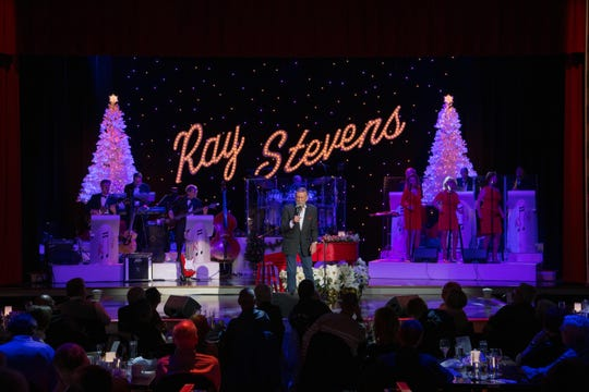 Ray Stevens performs during his Christmas show at Ray Stevens CabaRay Showroom.
