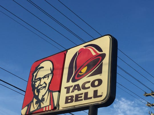 Ownership of a combined Taco Bell and KFC want to separate the restaurants with a new building and renovation of the existing one.