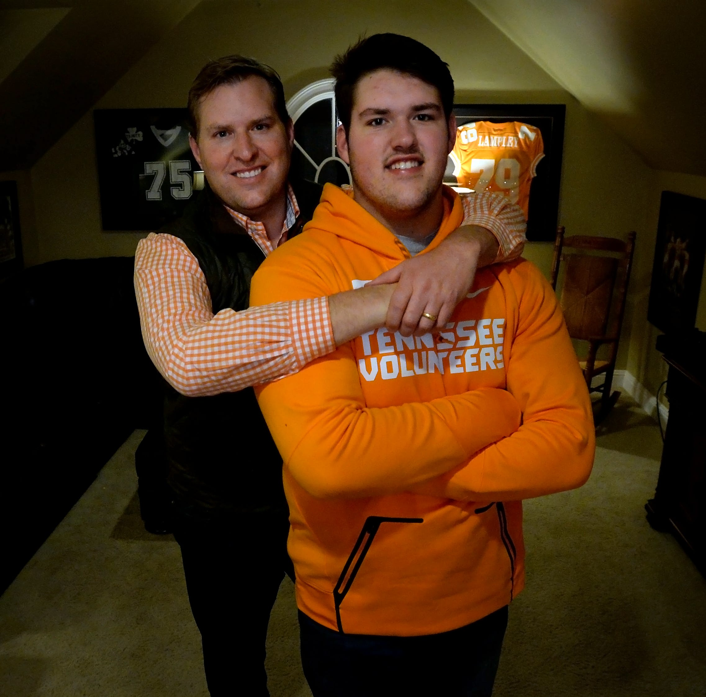 UT Vols football: Why MBA's Jackson Lampley almost picked Auburn but chose Tennessee like dad