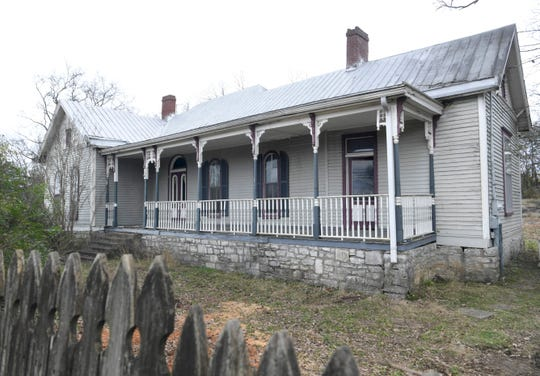 George W. Morton House, built in 1870 and located at 7186 Nolensville Road. It is one of only three residences in Nolensville listed on the National Register of Historic Places.
