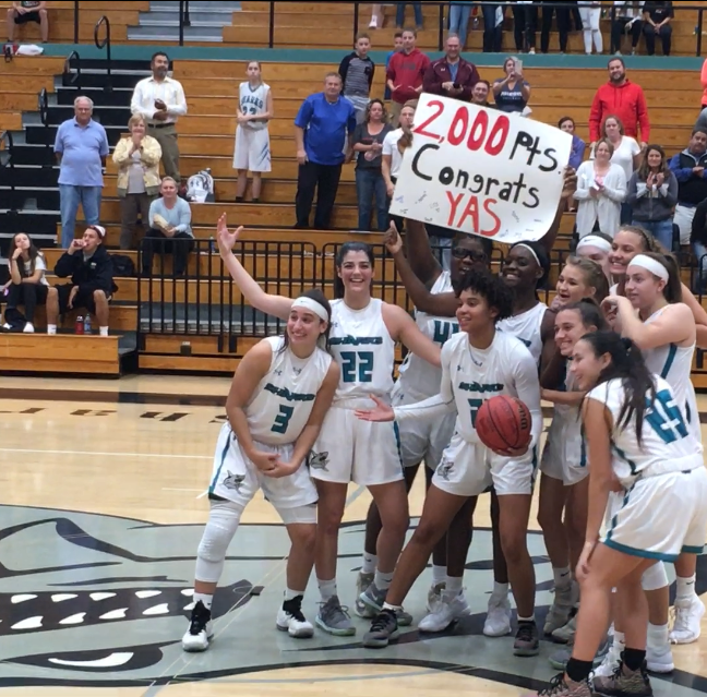 High school girls basketball: Gulf Coast's Yasmeen Chang joins exclusive 2,000-point club