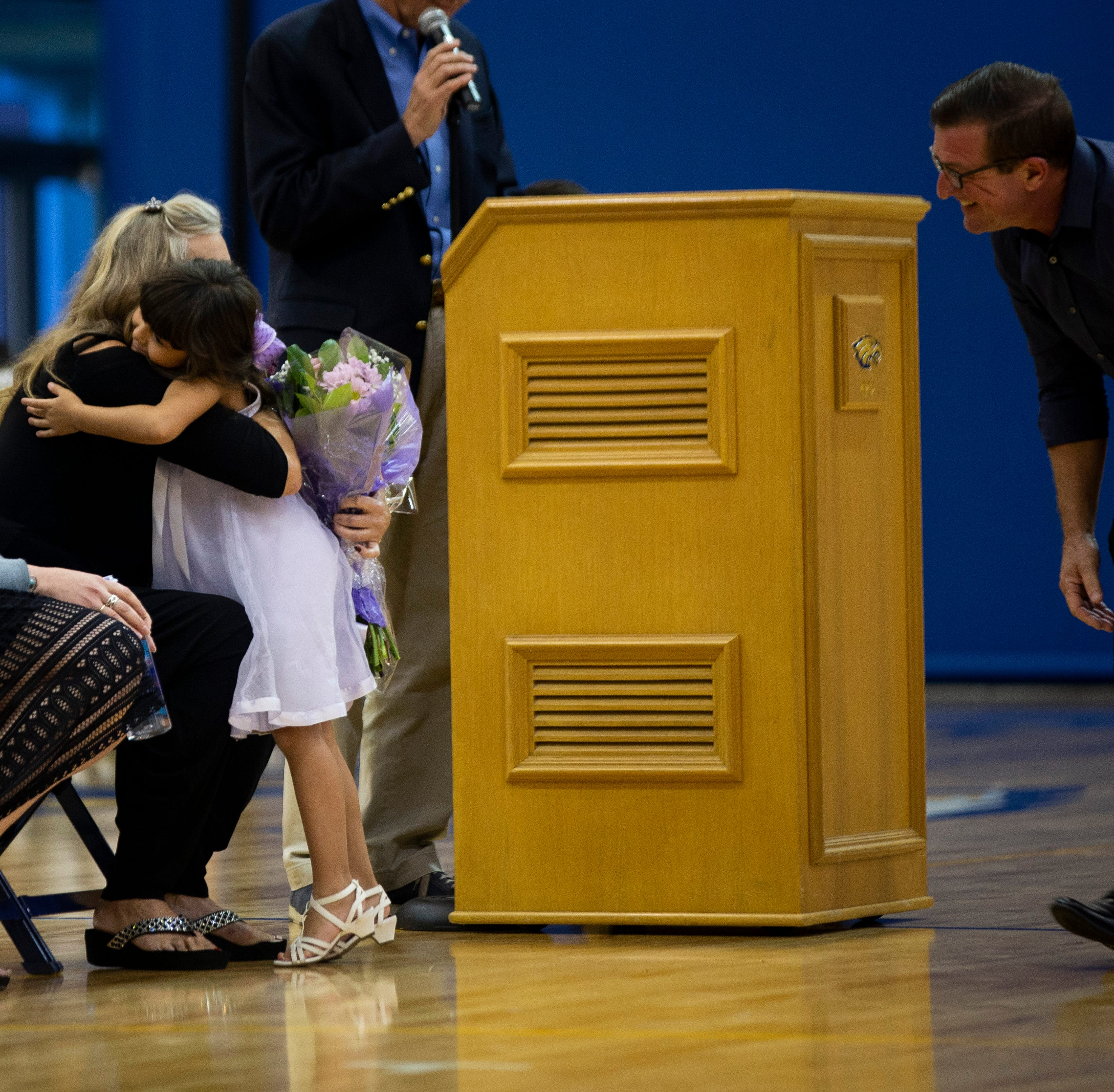 High school girls basketball: Naples High christens Dave Walker Court for late coach