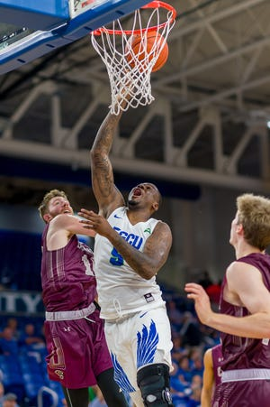 After missing the first seven games of this season, FGCU junior forward RaySean Scott has given the Eagles a huge boost.