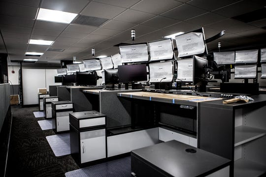 The new 911 Center will open in late February, county officials said, almost two years after it was first expected to open.