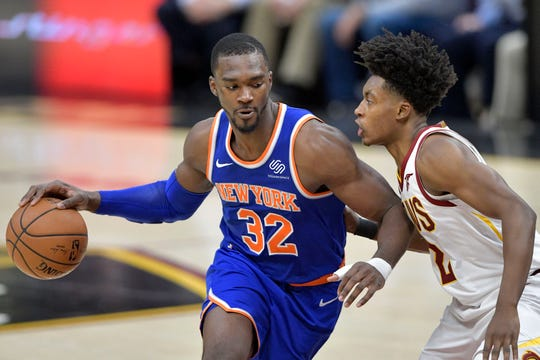 Noah Vonleh and the New York Knicks will host the Milwaukee Bucks Tuesday at Madison Square Garden in a nationally televised Christmas Day game.