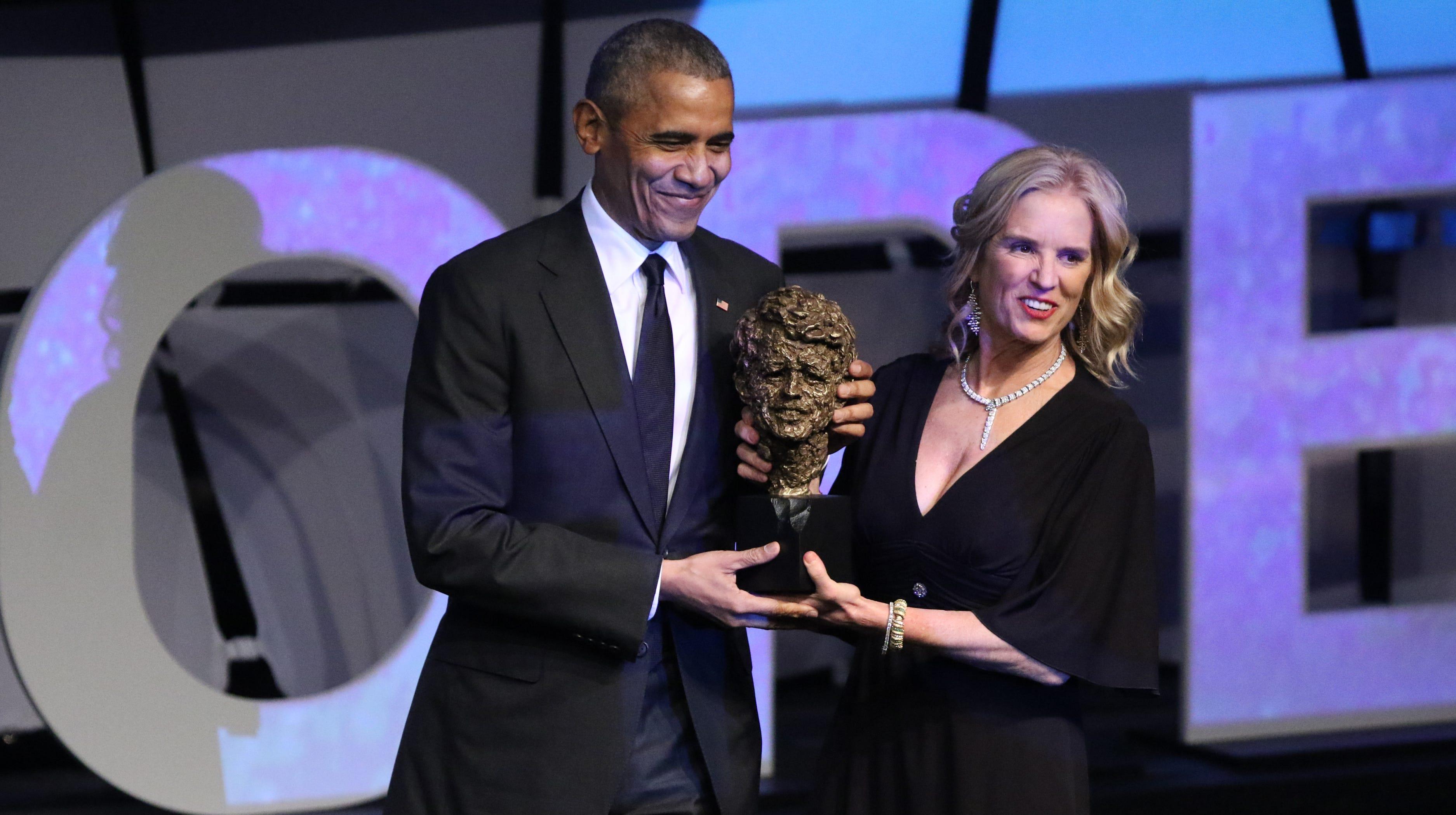 Pres. Obama, Gov. Murphy, among celebrities at Kennedy award gala