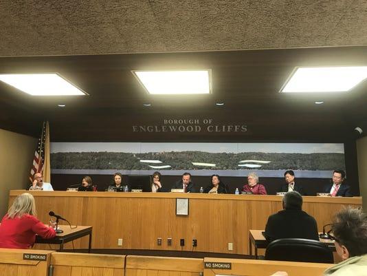 Cliffs council meeting