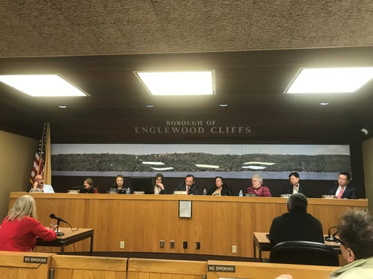 Englewood Cliffs mayor and council appointed Officer-in-Charge Lt. David Hill to the role of acting chief at their Dec. 12 meeting.