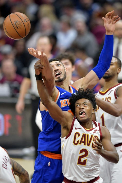 Nba New York Knicks At Cleveland Cavaliers