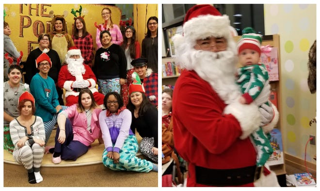 The Polar Express was in full swing with theater students from Las Cruces High School performing at the event for their book fair Friday, Dec. 7.