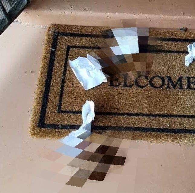 Poop-etrators leave mess on Las Cruces family's porch