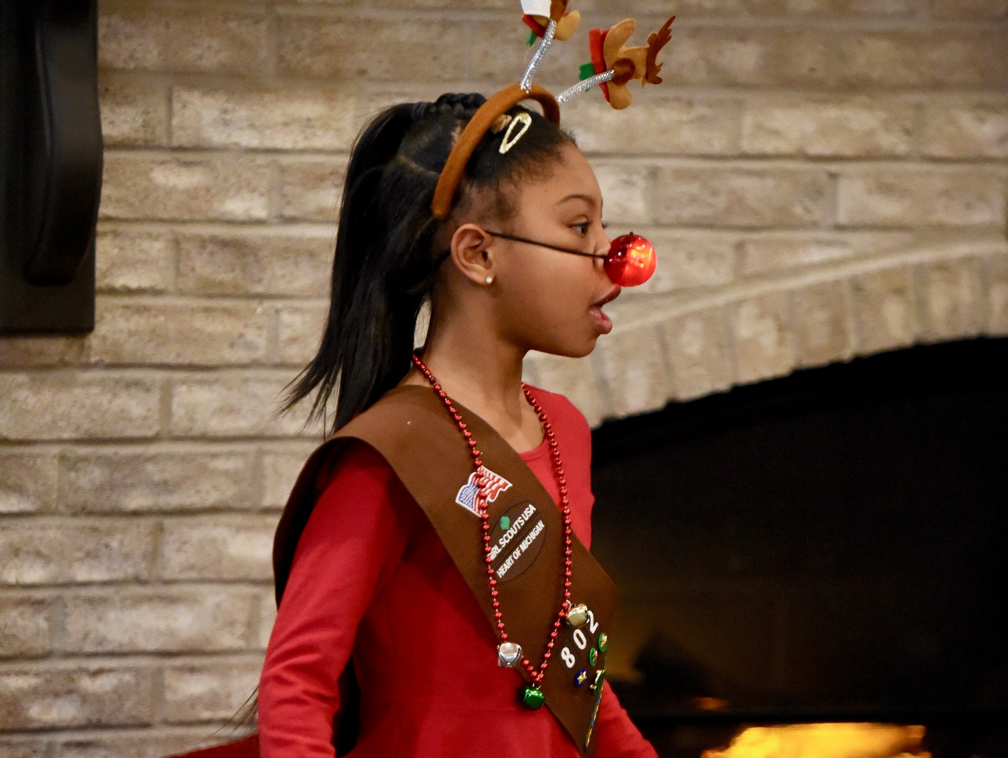 Milani Parker has a lot in common with Rudolph the Red Nosed Reindeer.
