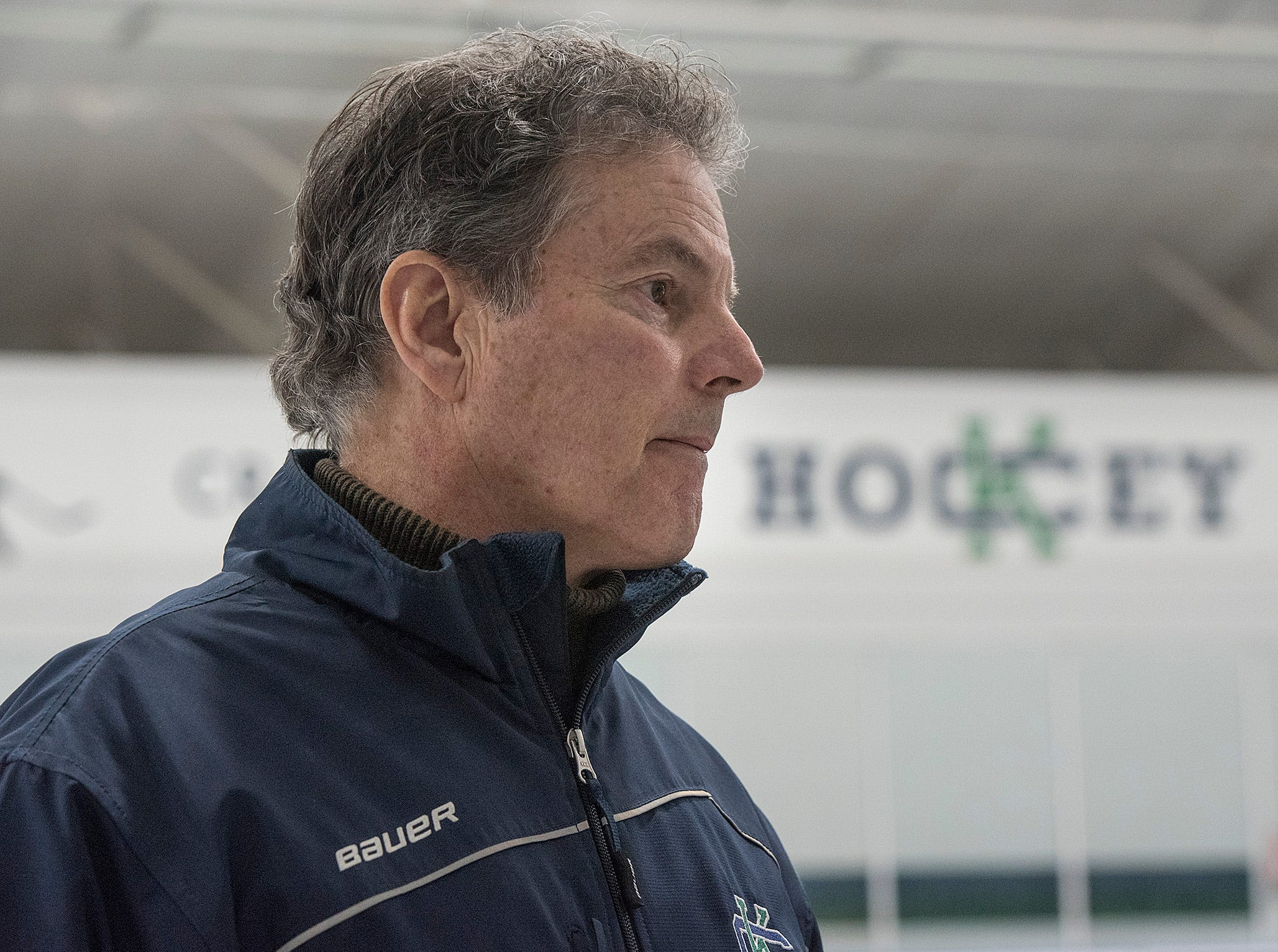 Andy Weidenbach, Cranbrook Hockey Head Coach, is retiring.