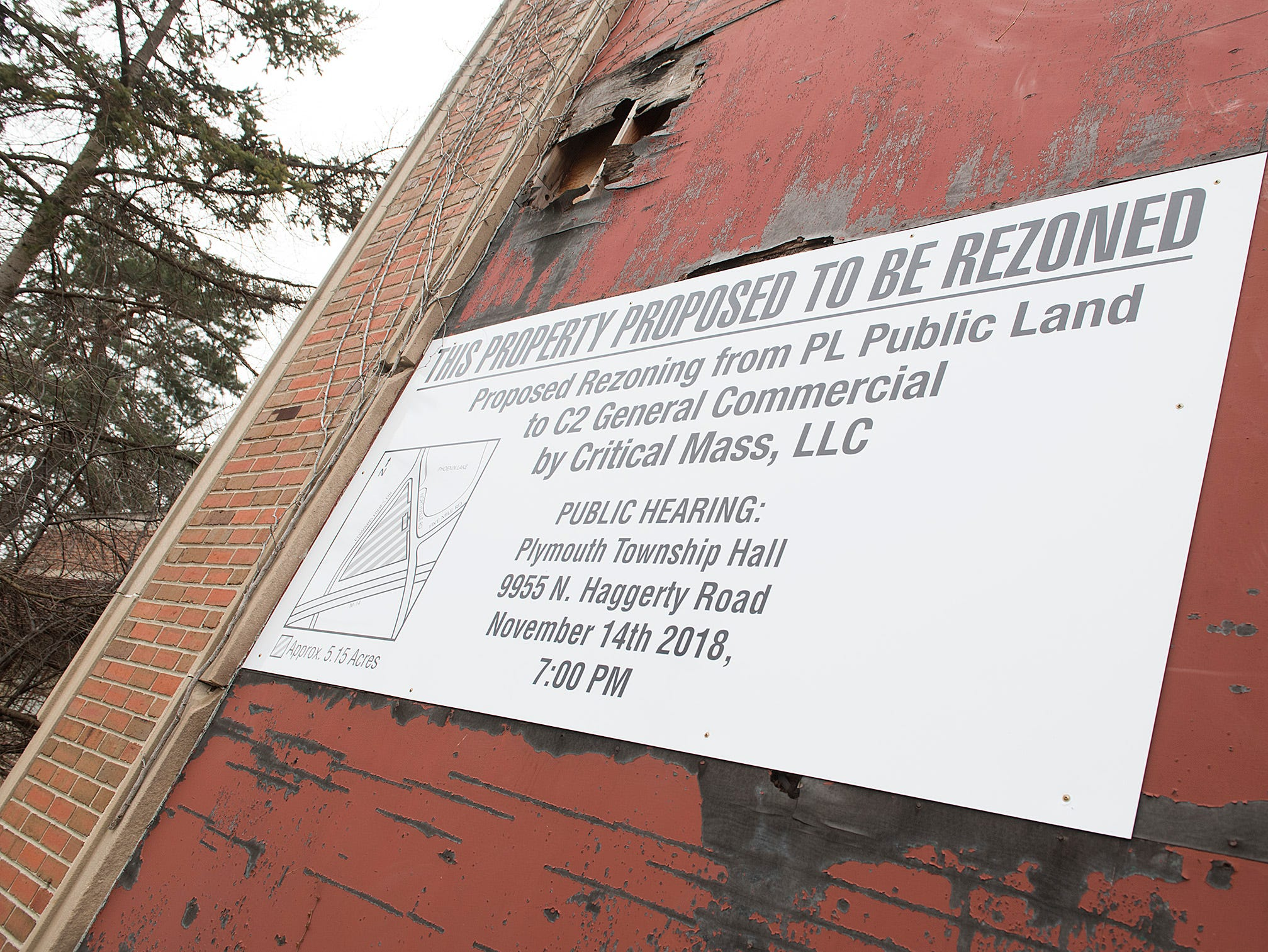 Current zoning of Phoenix Mill is Public Land. Plans are to change to C2 General Commercial so the property may be sold.