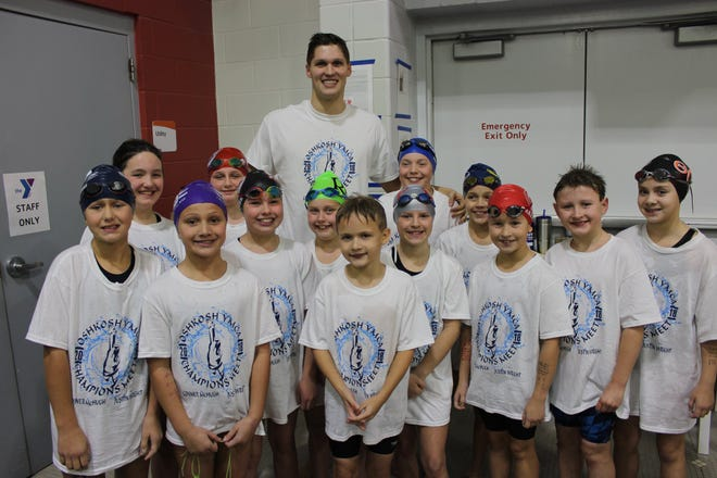 The OSHY Dolphin Swim Team held its  16th annual Champion Meet. The members of the meet donated over $350 to the Day By Day Warming Shelter.
