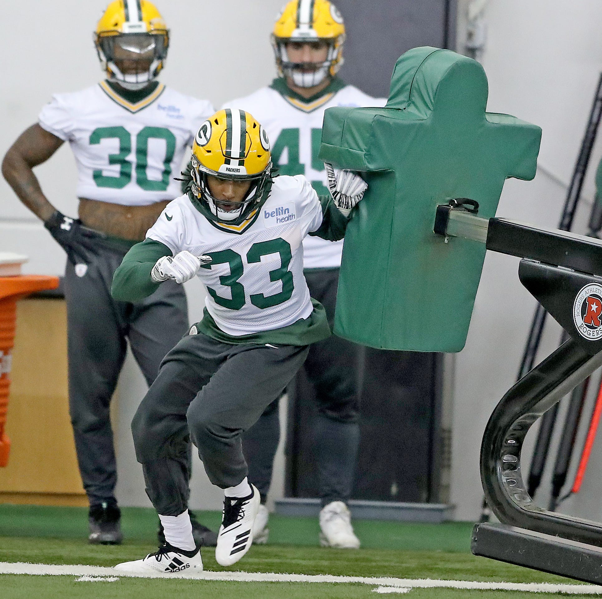 Packers notes: Aaron Jones eyes milestone despite limited carries