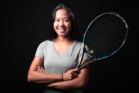 Shekinah Daffon of Palm Springs tennis is selected as one of The Desert Sun 2018 Fall Athletes of the Year, December 12, 2018.