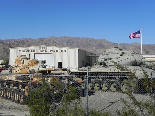 Matzner Tank Pavilion
