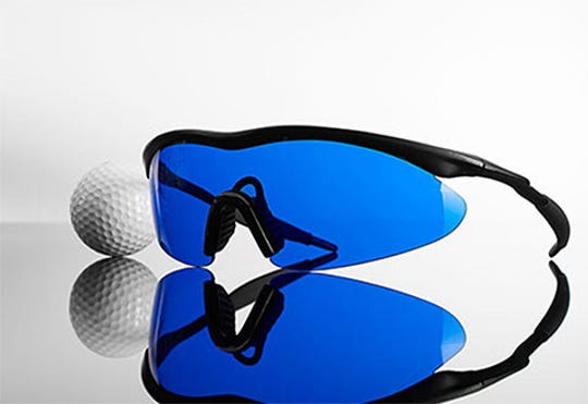 Golf Ball Finding Glasses help golfers find lost balls in high grass or bushes.