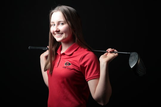 Caroline Wales of Palm Desert golf is selected as one of The Desert Sun 2018 Fall Athletes of the Year, December 12, 2018.
