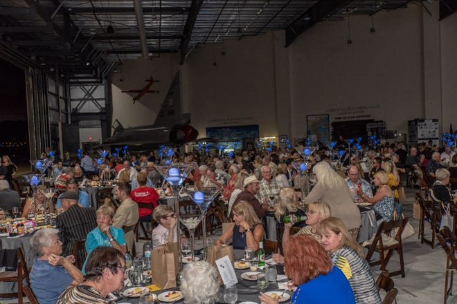 The Palm Springs Air Museum was filled with animal loving supporters.