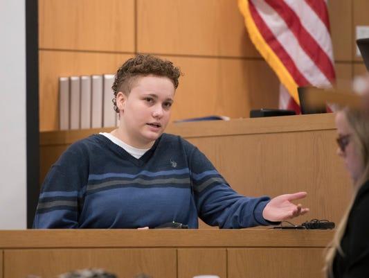 Desiree Tedder Testifies During Trial