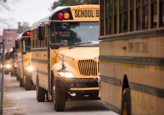 Escambia Schools Buses