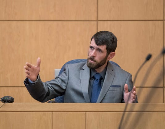 Greenwood Testifies During Trial
