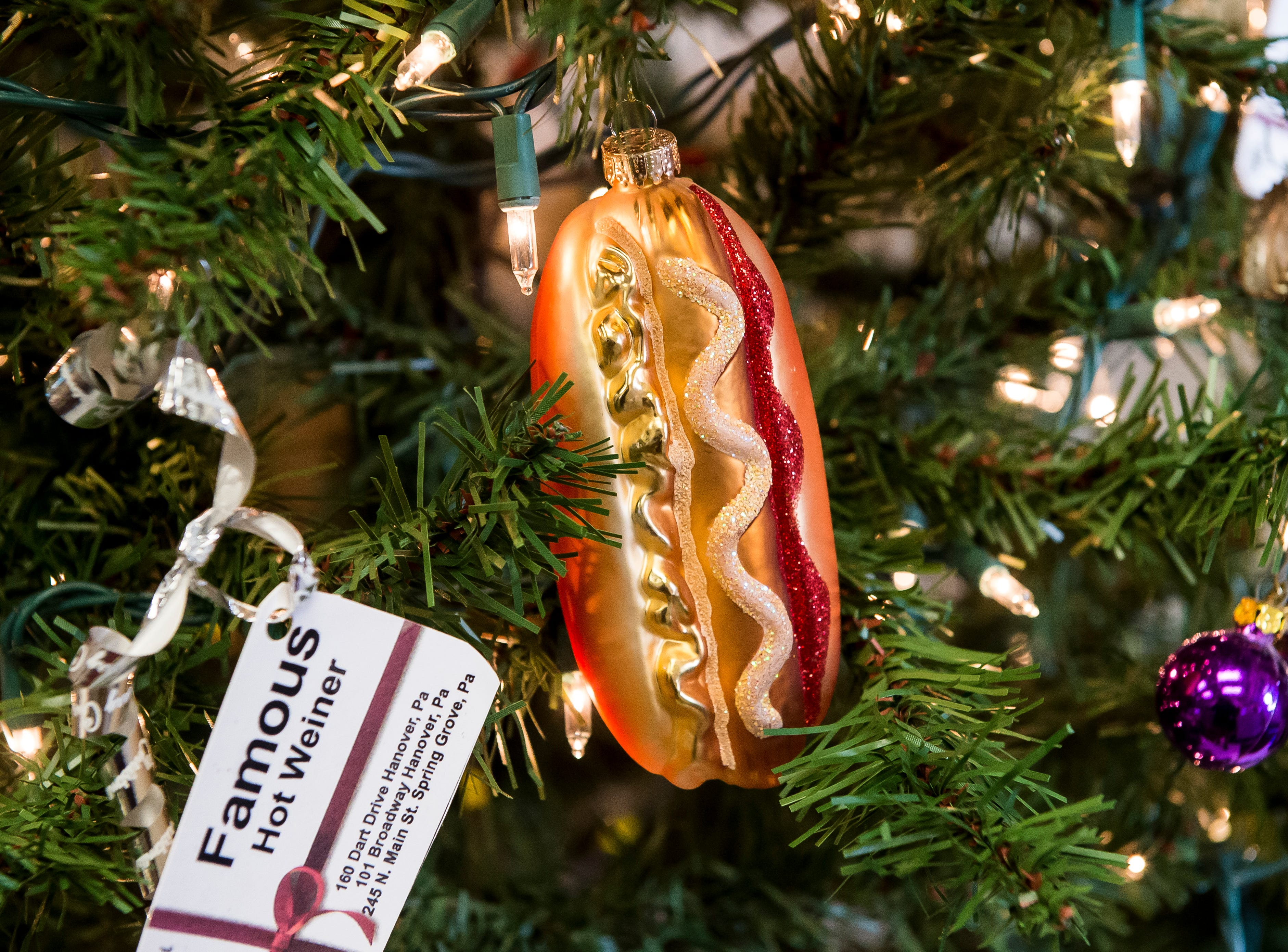 Famous Hot Weiner located at 101 Broadway. Visit mainstreethanover.org for details about Christmas Tree Wars.