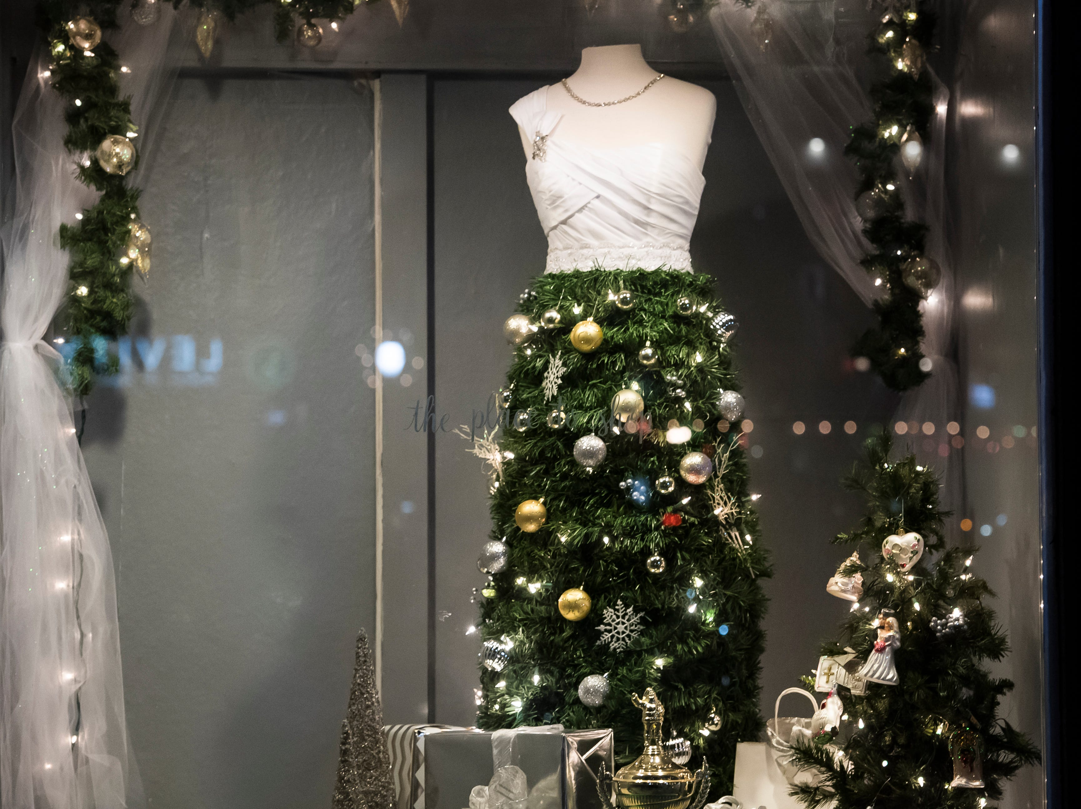 CoCo's Bridal located at 13 Center Square. Visit mainstreethanover.org for details about Christmas Tree Wars.