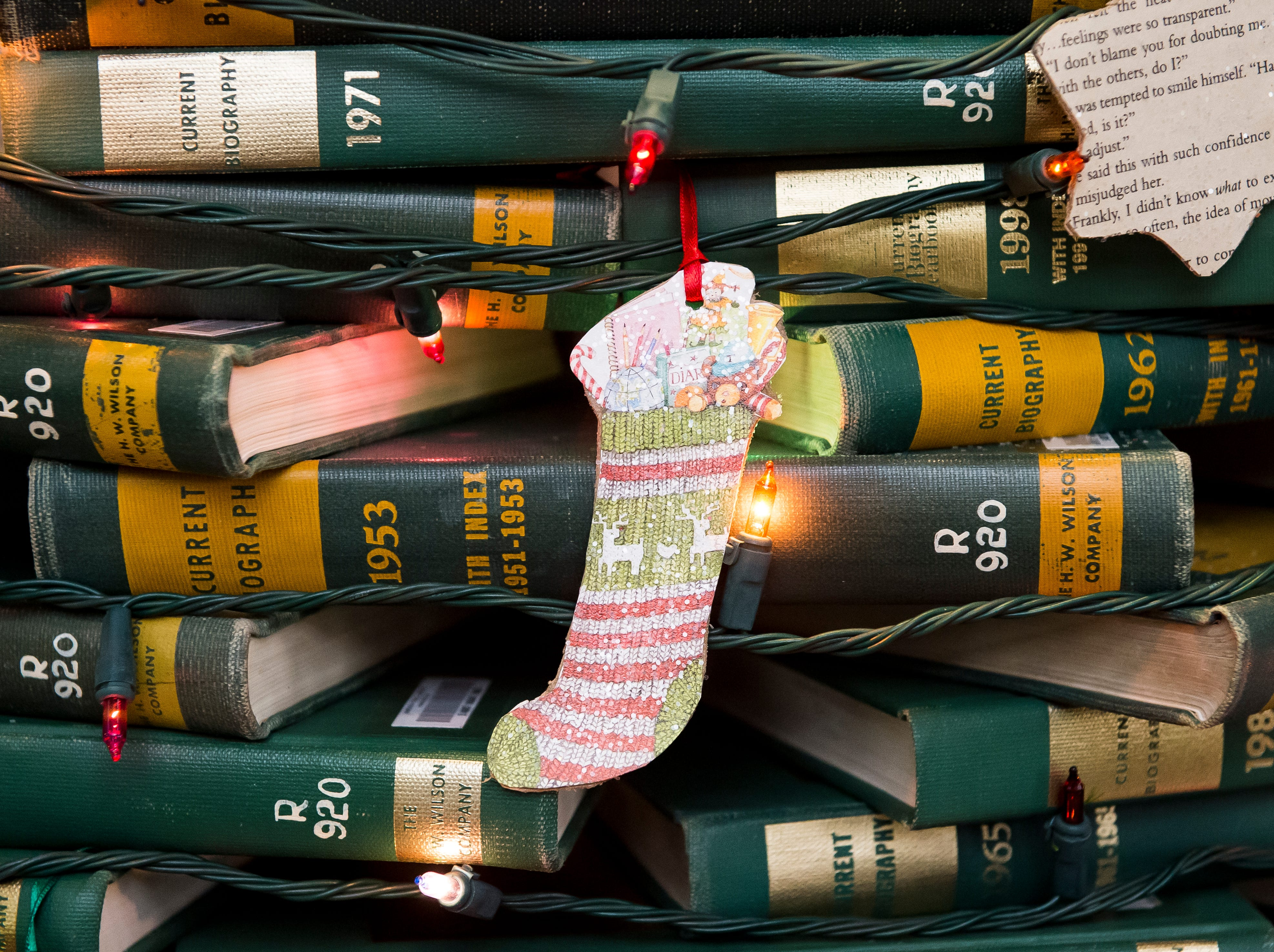 Guthrie Memorial Library located at 2 Library Place. Visit mainstreethanover.org for details about Christmas Tree Wars.