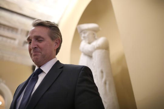 Sen. Jeff Flake, R-Ariz., once sat on the Senate Judiciary Committee, and captivated the country when he demanded an FBI investigation of the sexual assault allegation against Trump's Supreme Court nominee Brett Kavanaugh.