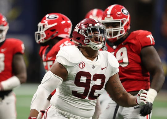 Could Alabama Crimson Tide defensive lineman Quinnen Williams be the Arizona Cardinals' pick in the 2019 NFl draft?