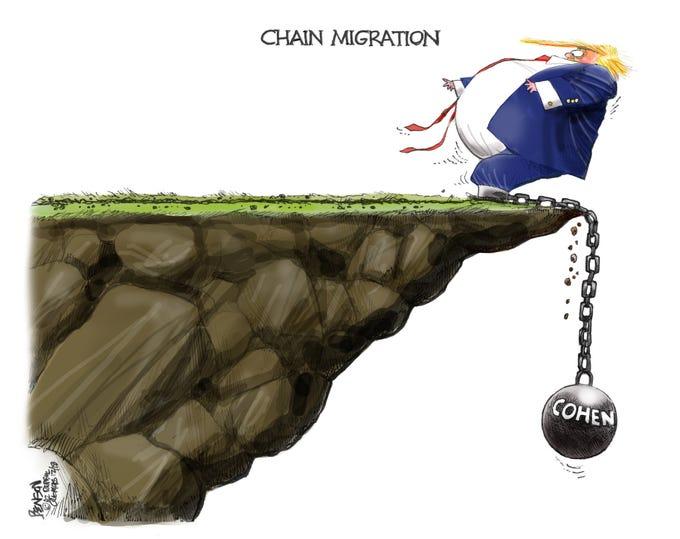 Cartoon for Dec. 13, 2018.