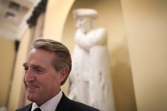 Arizona Senator Jeff Flake Delivers His Farewell Speech To The Senate