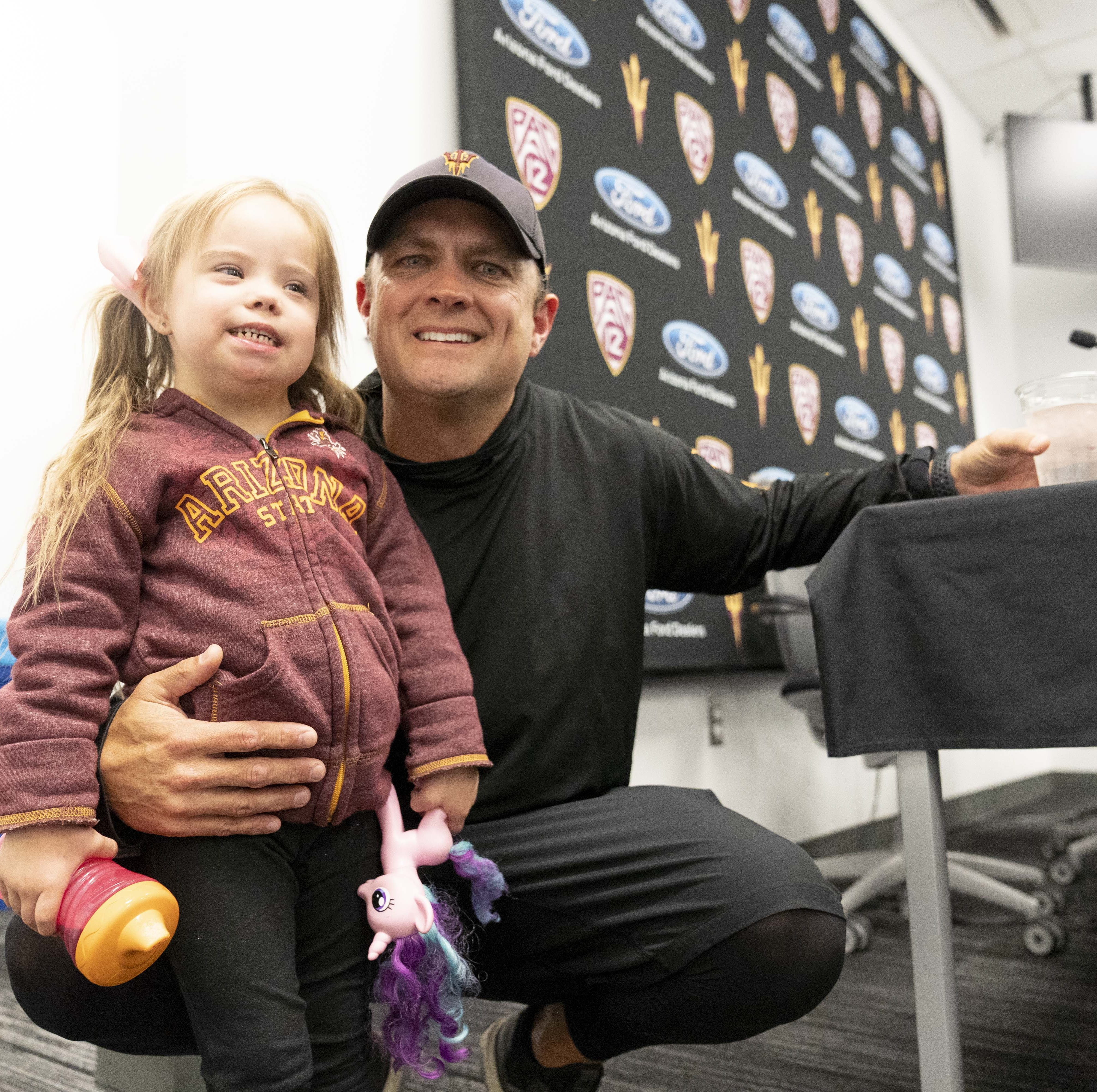 ASU's Danny Gonzales sets high bars for his players, and his daughter with Down syndrome