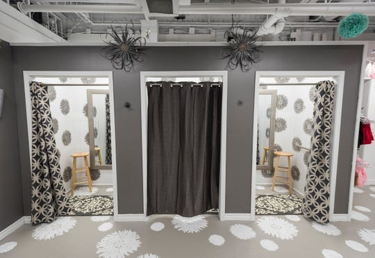 Three new dressing rooms have been built at Papaya Branch Boutique.