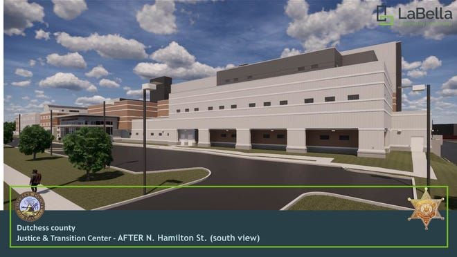 This is a depiction of the new Dutchess County Jail