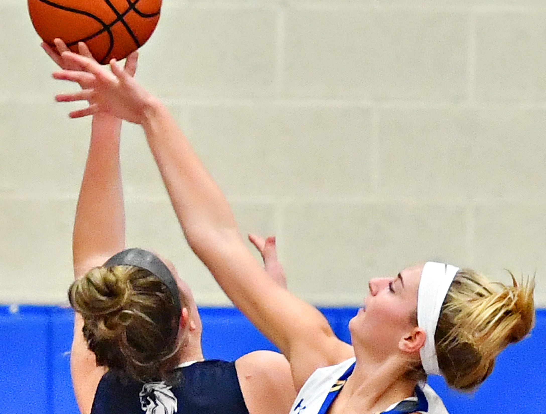 Kennard-Dale vs Camp Hill during girls' basketball action at Kennard-Dale High School in Fawn Grove, Wednesday, Dec. 12, 2018. Kennard-Dale would win the game 47-28. Dawn J. Sagert photo