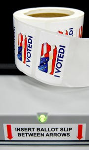 A New Voting Systems Expo hosted by the Pennsylvania Department of State took place at Dickinson College Wednesday, Dec. 12, 2018. Pennsylvania counties are preparing to replace voting machinesafterGov. Tom Wolf in April mandatedthat voting machines used in the state have a verifiable paper trail. Bill Kalina photo