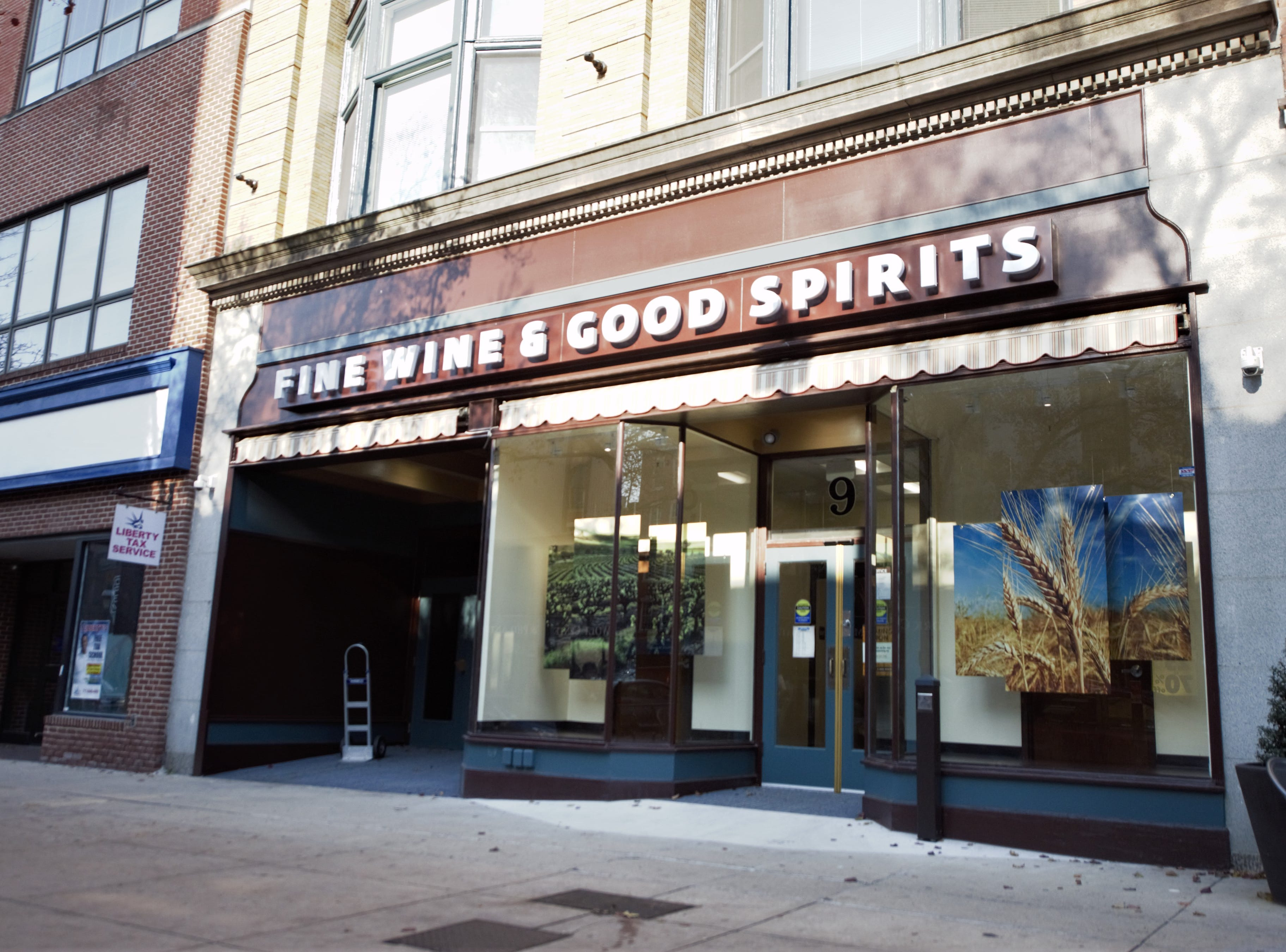 When is the downtown York Fine Wine and Good Spirits store opening?