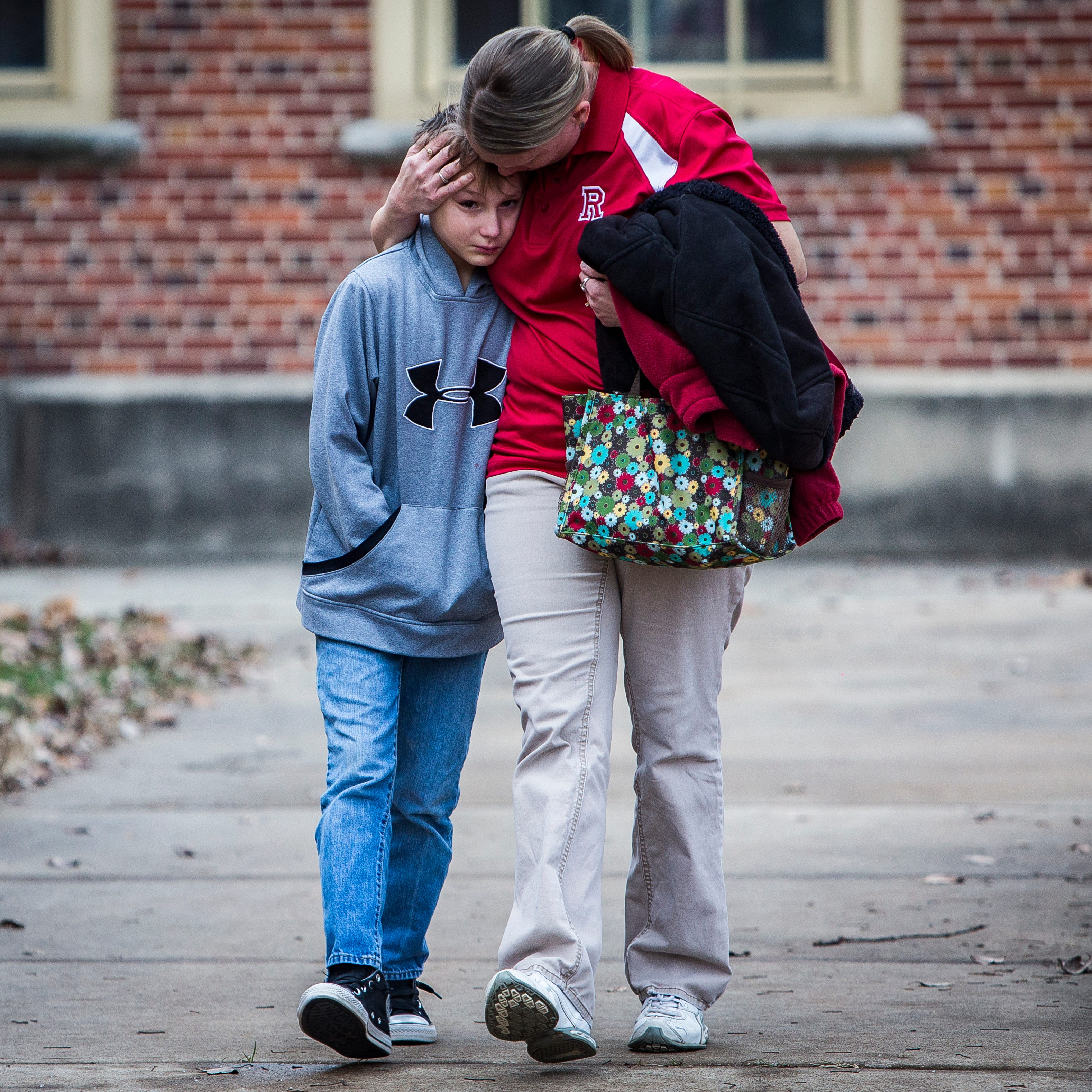 'I'm going to hug her extra tight': Parents react to Richmond school shooting