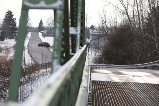 Groth Road bridge over the Erie Canal in the Town of Murray is part of the New York State Department of Transportation's nearly $11 million rehabilitation project of seven Erie Canal bridges in Orleans County.