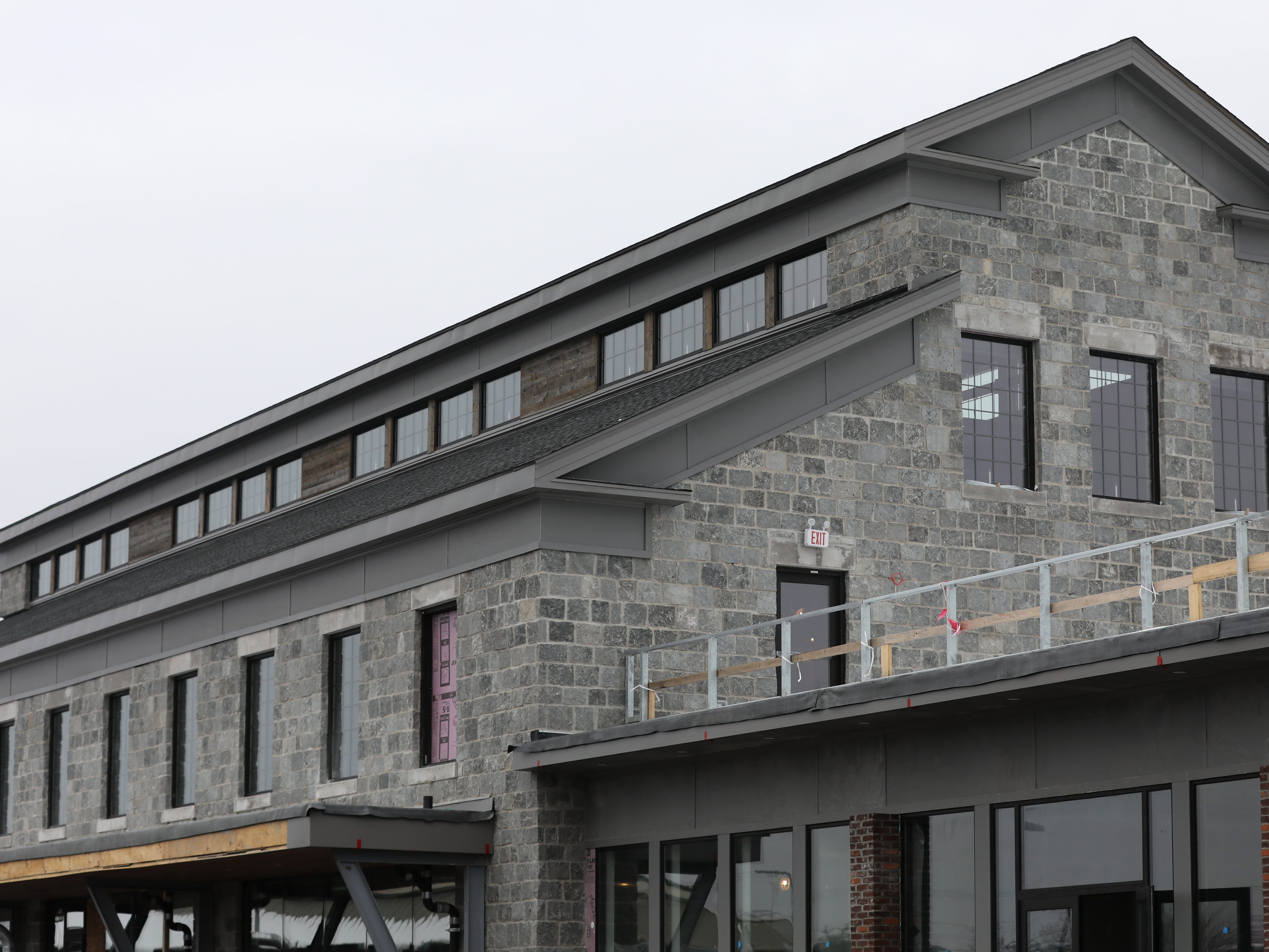 A roof patio will be accessible from the second floor at New York Beer Project in Victor.