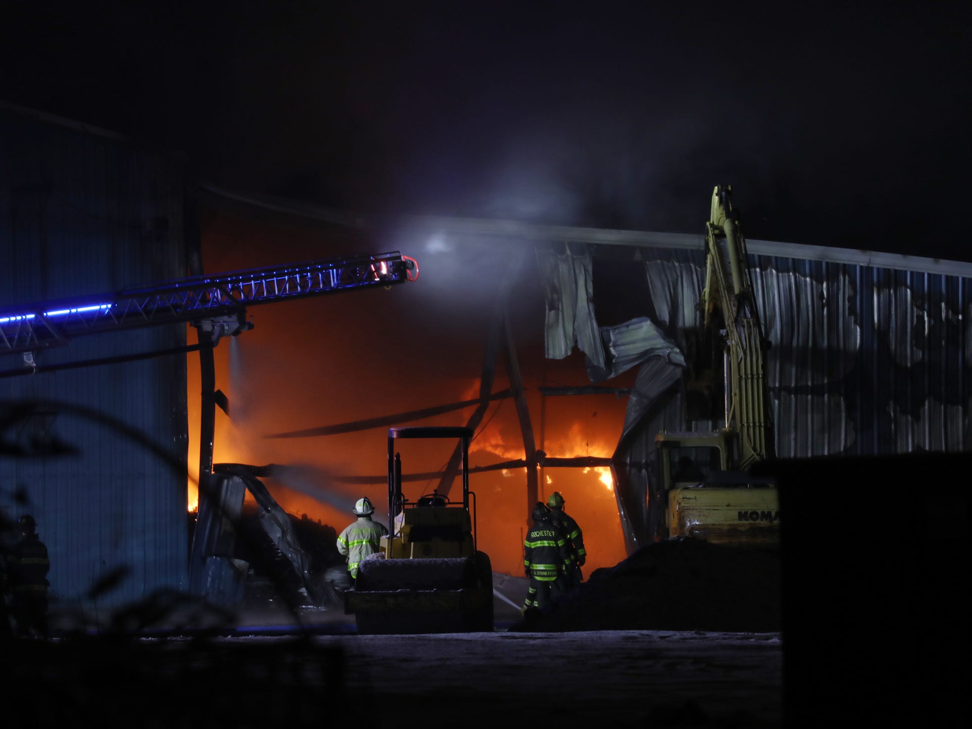 Premier Metals Group, a scrap metal processing business, operated the warehouse.
