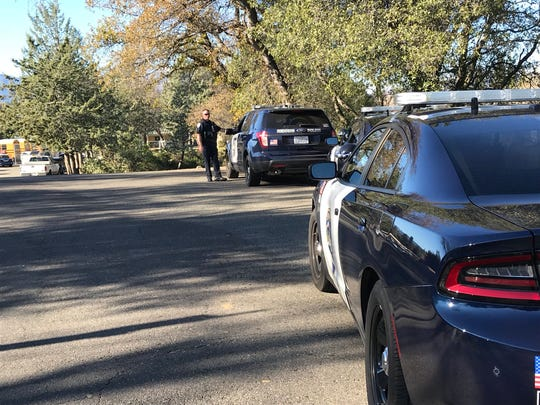 Redding police lifted a lockdown Thursday, Dec. 13, 2018 at Pioneer High School after determining a bomb threat  was a hoax.