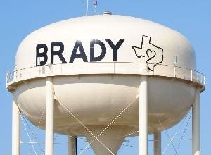 The City of Brady in McCulloch County has been approved for a $28 million loan package from the Texas Water Development Board to help update water infrastructure.
